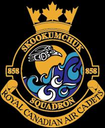 858 Skookumchuk Squadron Logo
