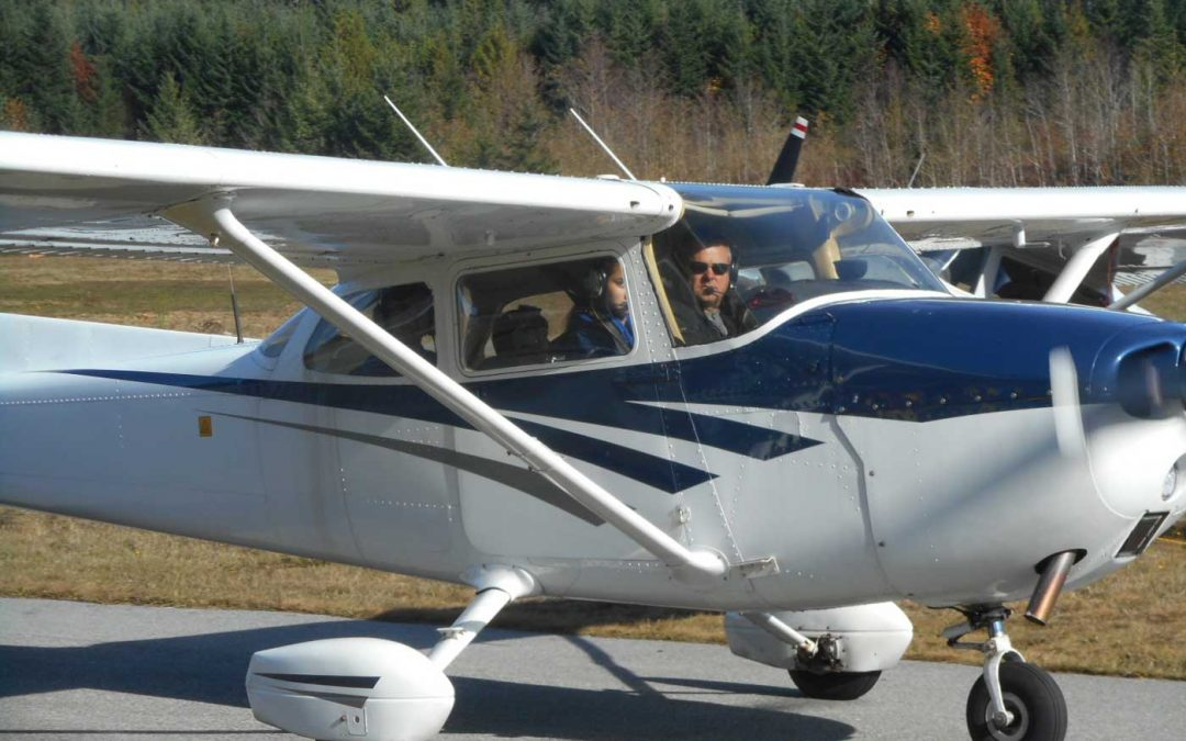 Taking Flight at Sechelt Airport