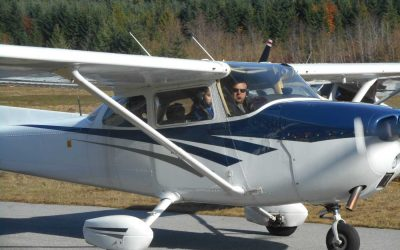 Taking Flight at Sechelt Airport