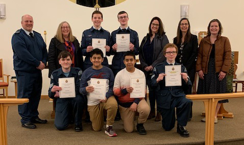 858 Skookumchuk Squadron Air Cadets Polish Their Public Speaking Skills in Annual Effective Speaking Competition