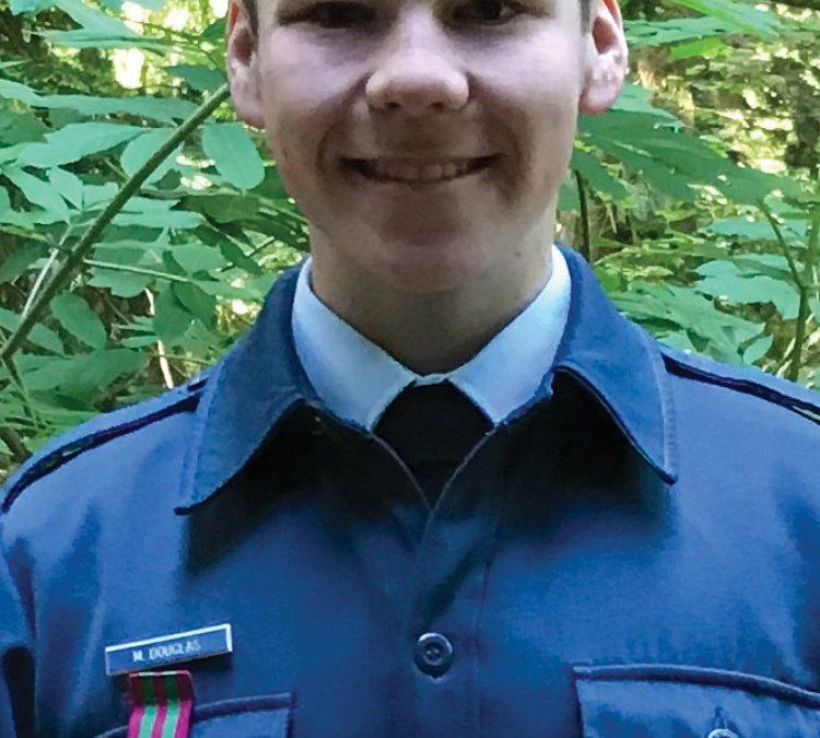 858 Skookumchuk cadet takes home gold in public speaking
